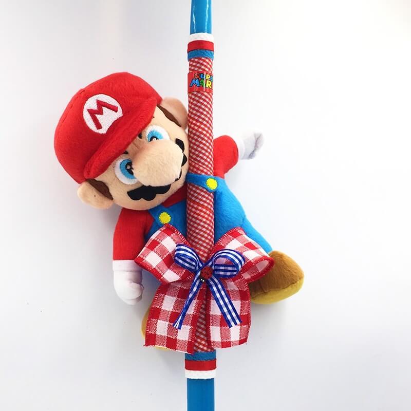 Χειροποίητη Πασχαλινή Λαμπάδα Super Mario (21.39)