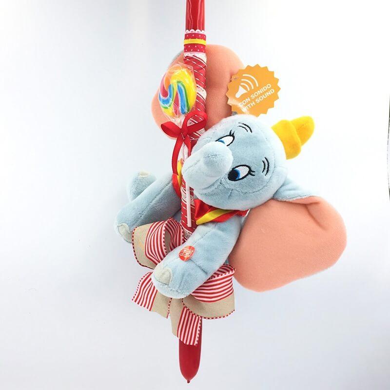 Χειροποίητη Πασχαλινή Λαμπάδα Ντάμπο το Ελεφαντάκι με Ήχους20εκ. (Dumbo) (21.38)