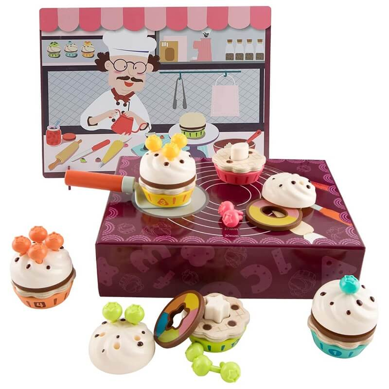 Fruit Cake Box - Ζαχαροπλαστείο 36τεμ. Top Bright (120449)