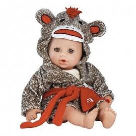 Μωρό Adora Bathtime Babies Monkey 33εκ.