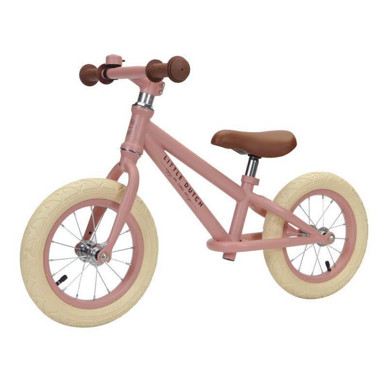 Μεταλλικό Ποδήλατο Ισορροπίας Ροζ Little Dutch (8000)