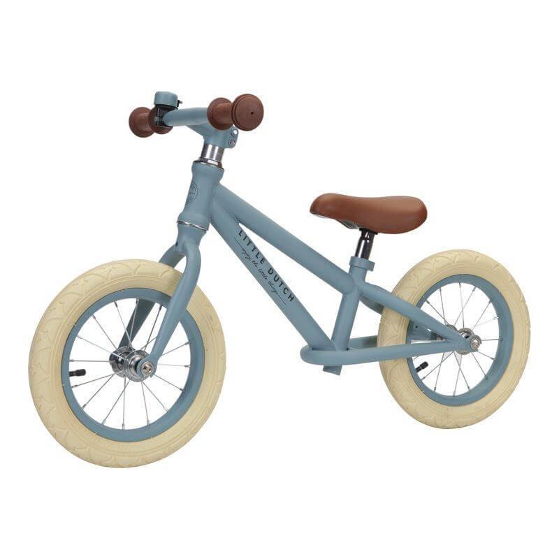 Μεταλλικό Ποδήλατο Ισορροπίας Γαλάζιο Little Dutch (8001)