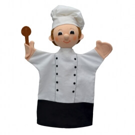 Κούκλα Κουκλοθεάτρου - Μάγειρας