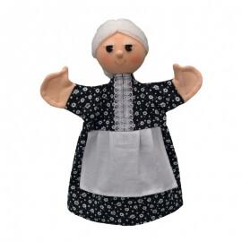 Κούκλα Κουκλοθεάτρου - Γιαγιά με Ποδιά