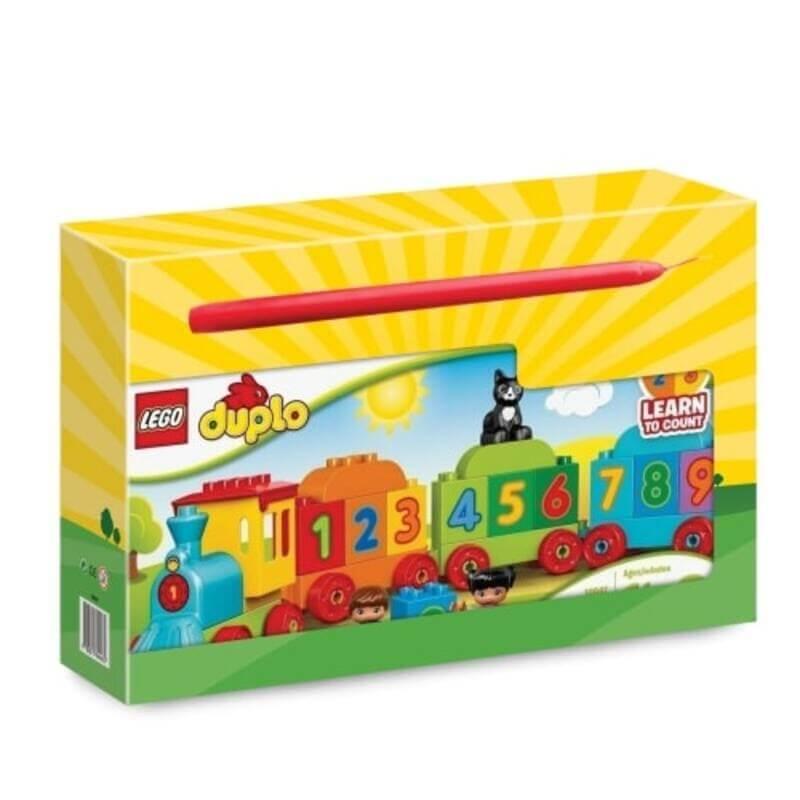 Πασχαλινή Λαμπάδα Lego Duplo Τρένο με Αριθμούς 10847 (201992)