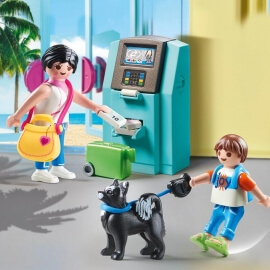 Playmobil Family Fun - Τουρίστες στο ATM (70439)