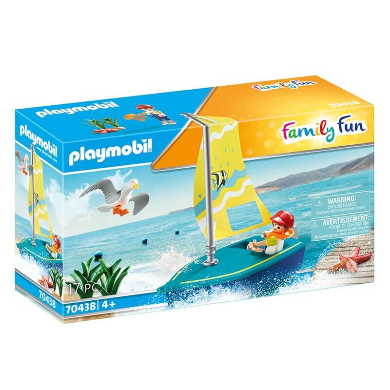 Playmobil Family Fun - Βαρκάκι Ιστιοπλοΐας (70438)