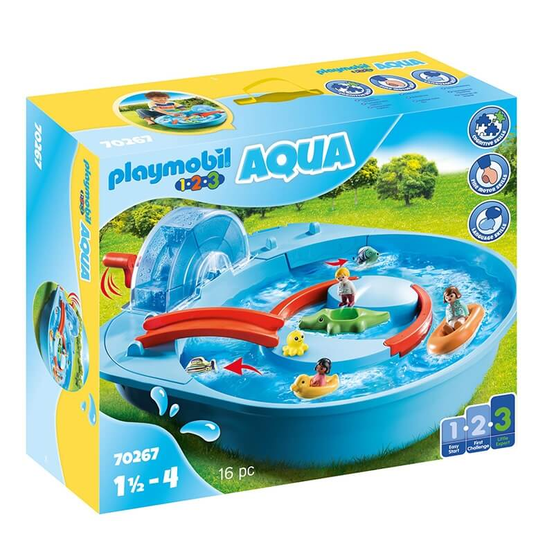 Playmobil Aqua - Μεγάλο Aqua Park με Νερόμυλο (70267)