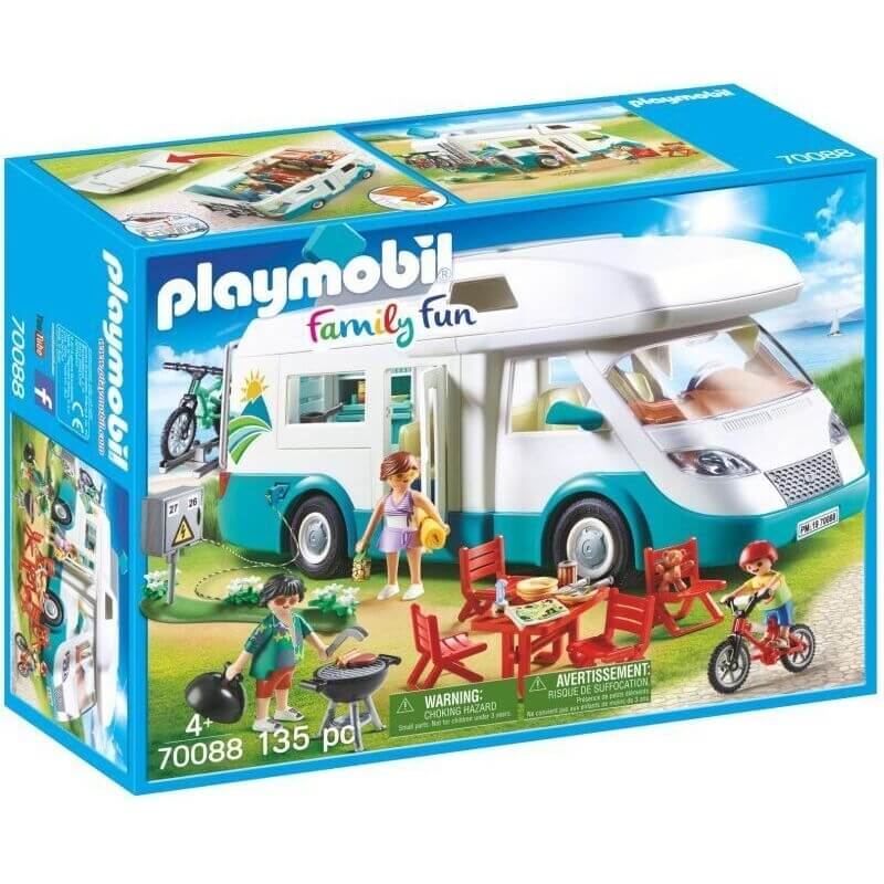 Playmobil Family Fun - Αυτοκινουμενο Οικογενειακό Αυτοκίνητο (70088)