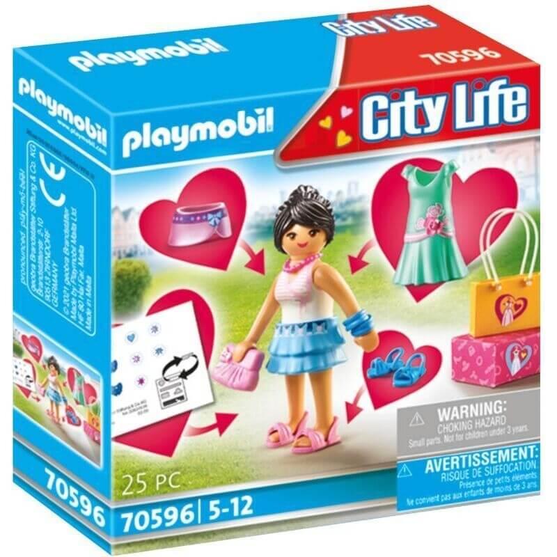 Playmobil City Life - Fashion Girl (70596)