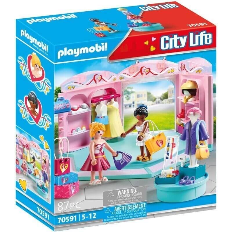 Playmobil City Life - Κατάστημα Μόδας (70591)