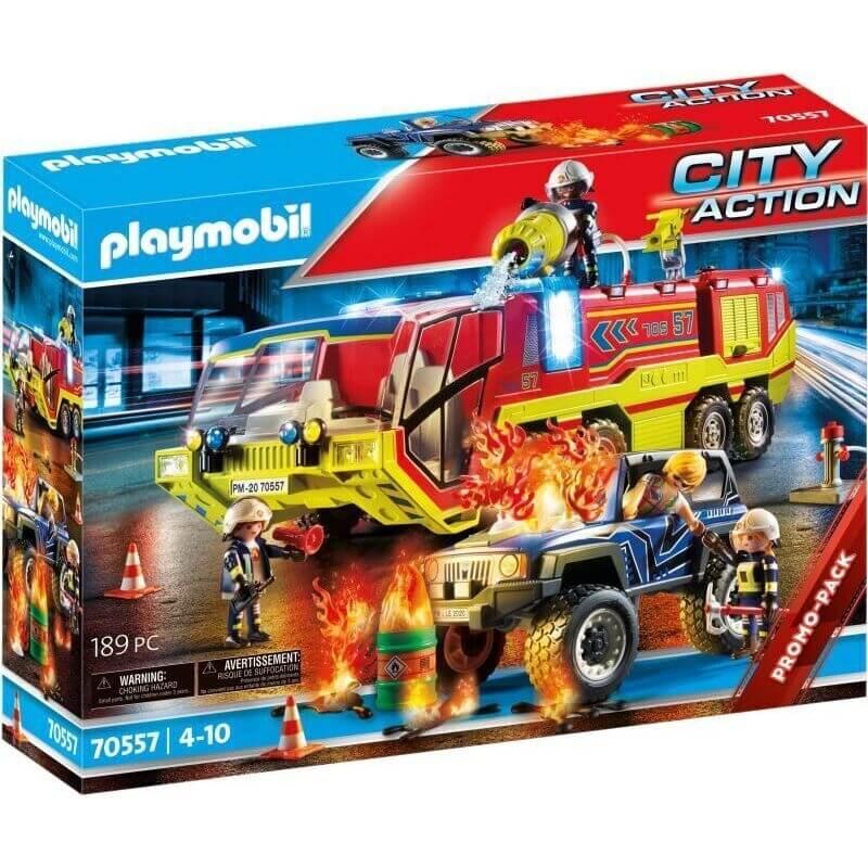 Playmobil Πυροσβεστική - Πυροσβεστική Ομάδα Διάσωσης (70557)