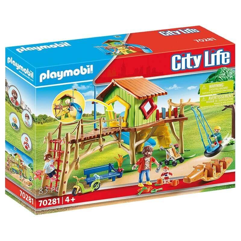 Playmobil City Life - Διασκέδαση στην Παιδική Χαρά (70281)