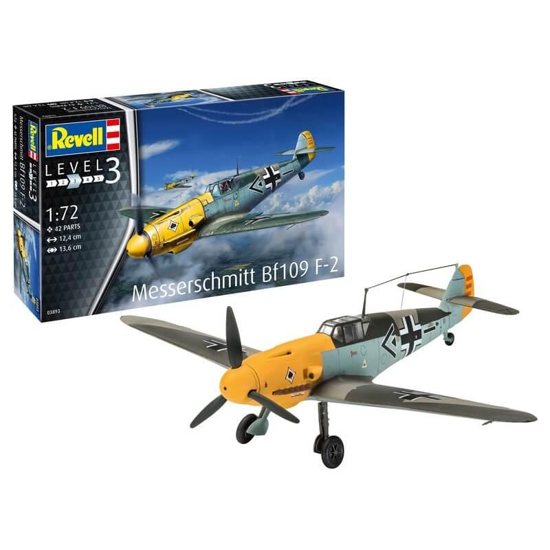 Πολεμικό Αεροπλάνο Messerschmitt Bf109 F-2 1/72 - Revell 03893