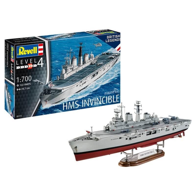 Πολεμικό Πλοίο HMS Invincible (Falkland War) 1/700 - Revell 05172
