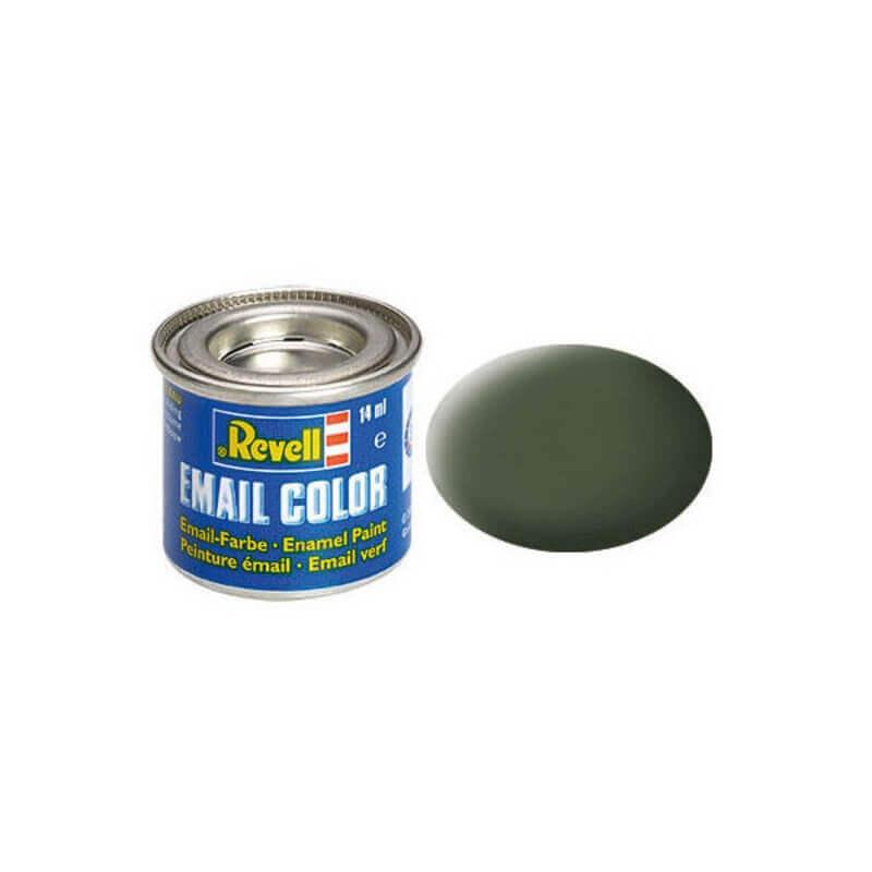 Χρώμα Μοντελισμού Revell 65 Bronze Green Matt 14ml