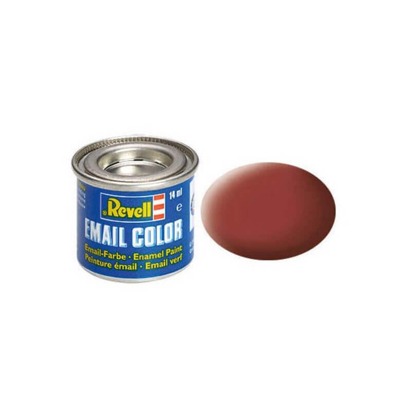 Χρώμα Μοντελισμού Revell 37 Καφέ Reddish Brown Matt 14ml