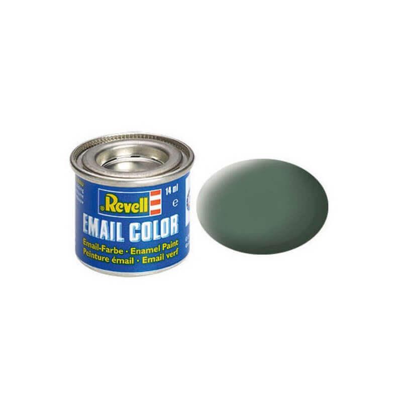 Χρώμα Μοντελισμού Revell 67 Greenish Grey Matt 14ml