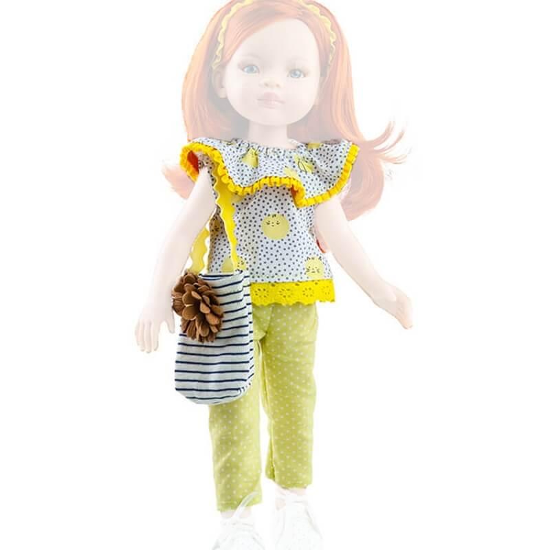 Σετ Ρούχα και Τσάντα για Κούκλα 32εκ. Paola Reina Amigas (54432)