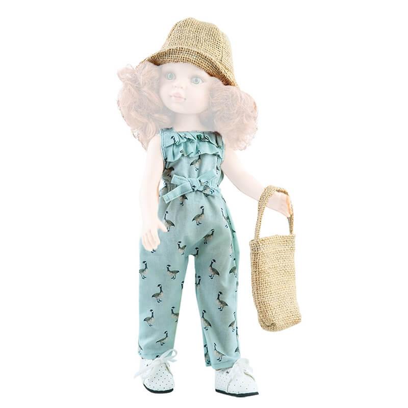 Σετ Ρούχα, Καπέλο και Τσάντα για Κούκλα 32εκ. Paola Reina Amigas (54429)