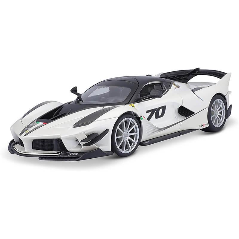 Bburago 1:18 Ferrari FXX K EVO λευκό περλέ