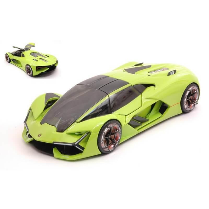 Bburago 1:24 Lamborghini Terzo Mllenio fluo green