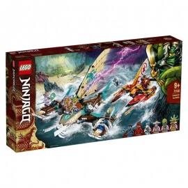 Lego Ninjago - Ναυμαχία Με Καταμαράν (71748)