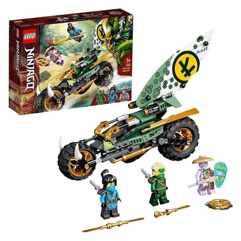 Lego Ninjago - Τσόπερ Μηχανή Ζούγκλας Του Λόιντ (71745)
