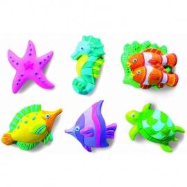 Κατασκευή Μαγνητάκια-Καρφίτσες Θαλάσσια Ζωή (4Μ0149)
