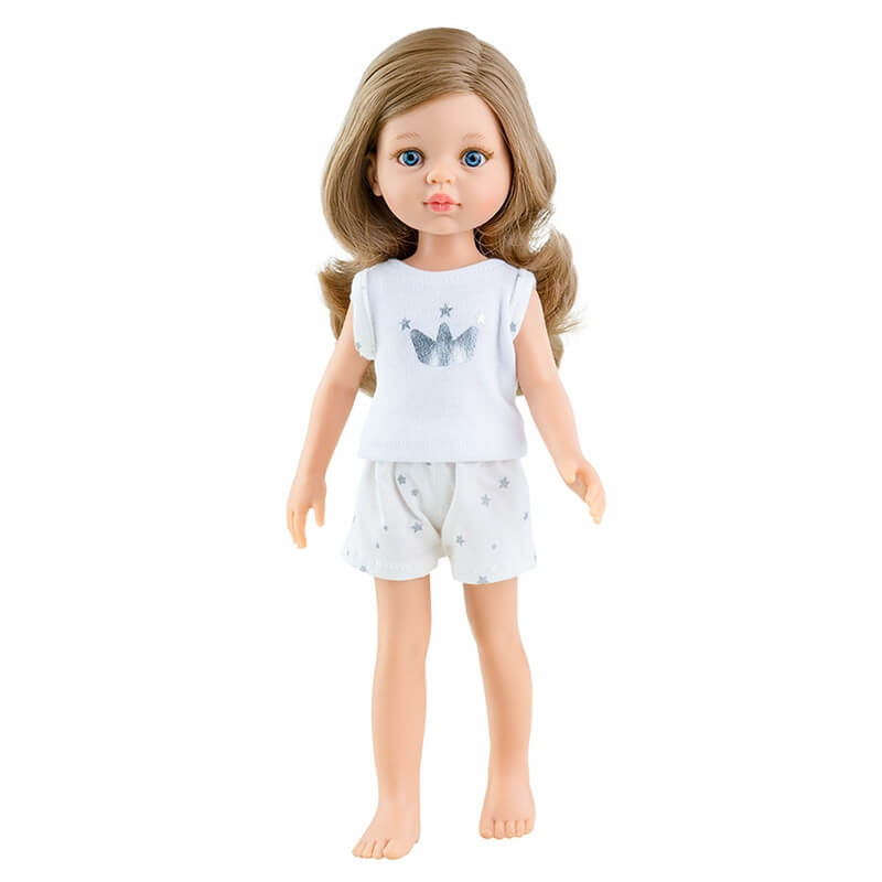 """Κούκλα Paola Reina Amigas Pijama """"Carol"""" 32 εκ."""