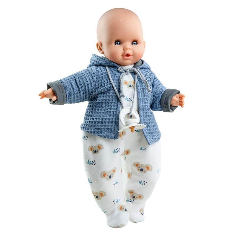 """Μωρό Paola Reina """"Alex New"""" με Ήχο και Κλείσιμο Ματιών 36 εκ."""