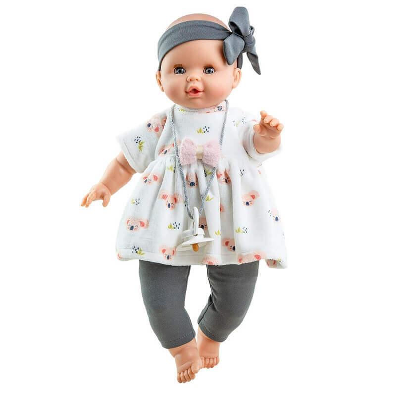 """Μωρό Paola Reina """"Sonia New"""" με Ήχο και Κλείσιμο Ματιών 36 εκ."""