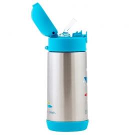 Ανοξείδωτο Παγούρι - Θερμός Καρχαρίας Double Wall Bottle Stephen Joseph
