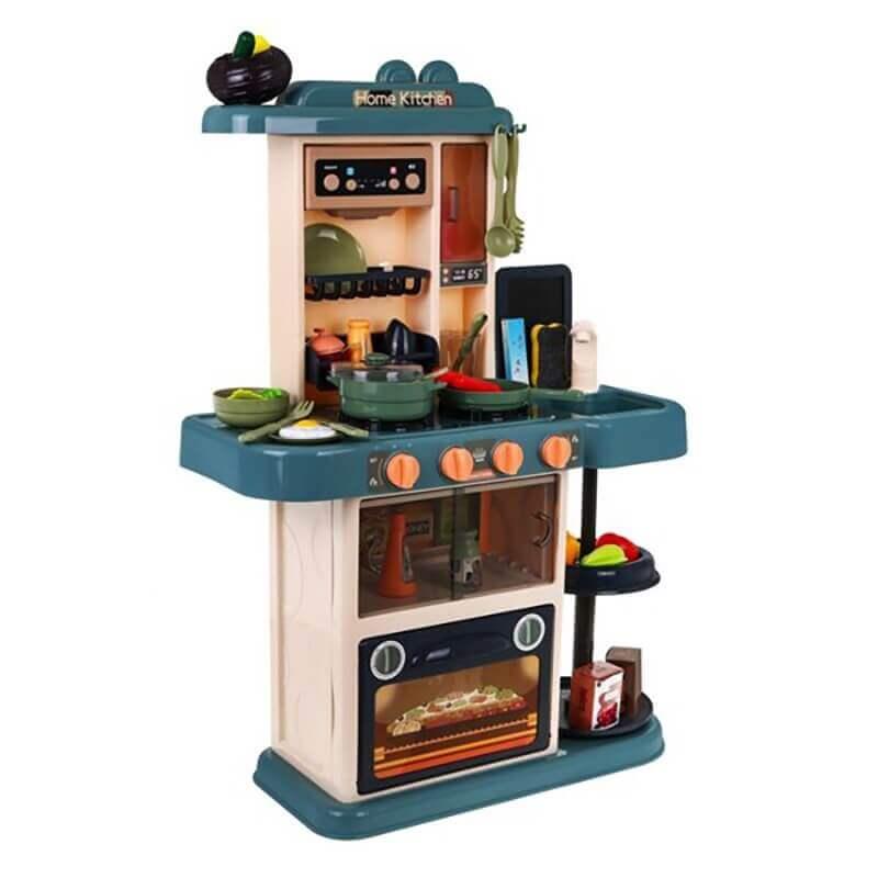 Παιδική Κουζίνα με Ήχους, Ατμό, Φώτα και Βρύση 43 τεμ (889-183)