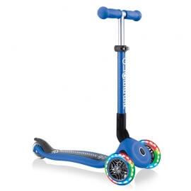 Πατίνι Globber Scooter Junior Foldable Fantasy Lights Racing Navy Blue (433-100)