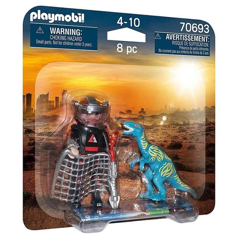 Playmobil Δεινόσαυροι - DuoPack TierArtz und Dino (70693)