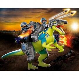 Playmobil Δεινόσαυροι - Σπινόσαυρος με διπλή πανοπλία (70625)
