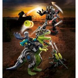Playmobil Δεινόσαυροι - T-Rex: Η μάχη των γιγάντων (70624)