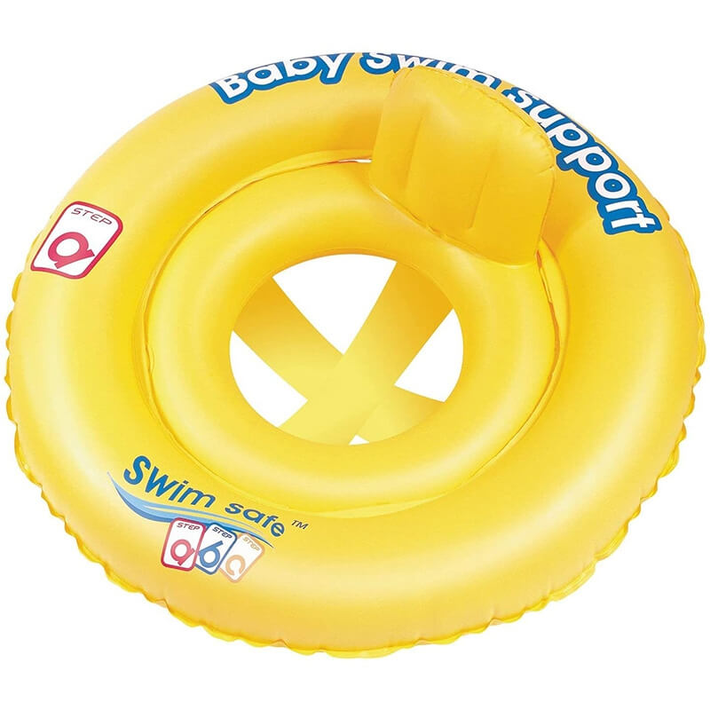 Φουσκωτό Παιδικό Σωσίβιο Κάθισμα Swim Safe - Bestway 32027 κίτρινο