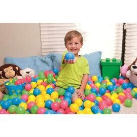 100 Πλαστικά Μπαλάκια Παιχνιδιού - Bestway 52027