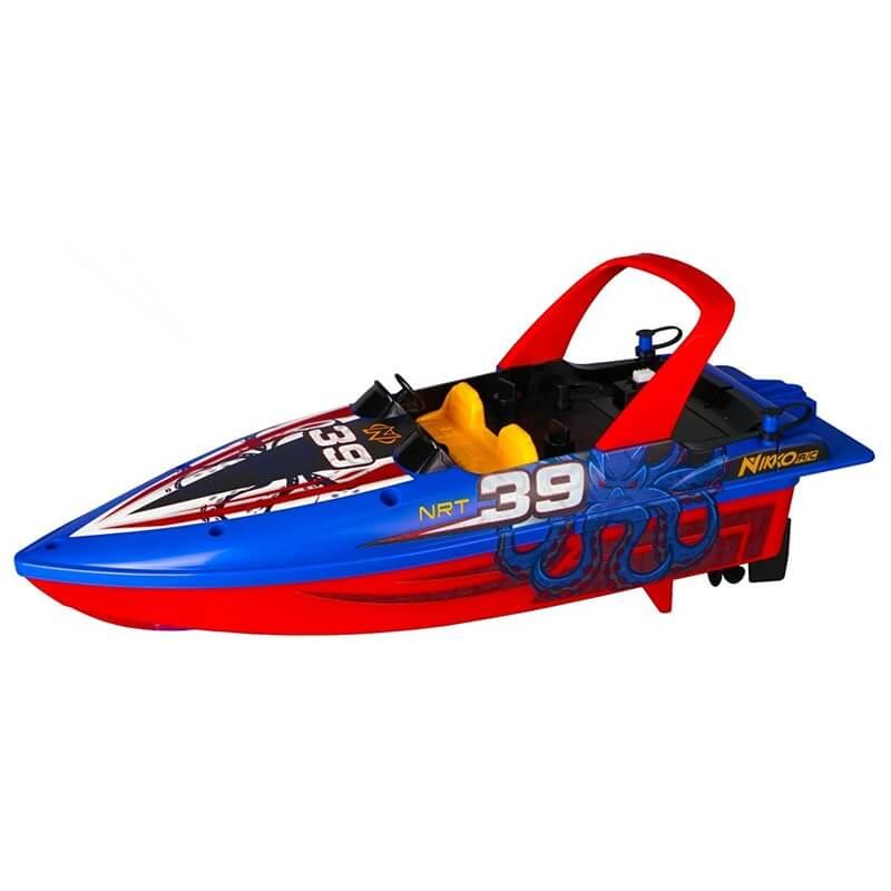 Ταχύπλοο Τηλεκ/νο Nikko Race Boat μπλε (10170)