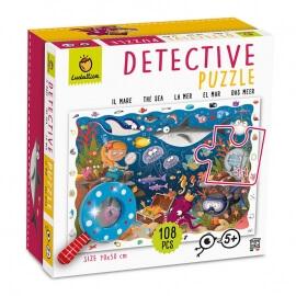 Detective Παζλ Εξερευνώ τη Θάλασσα 108 κομ - Ludattica (20156)