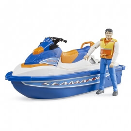 Bruder - Jet Ski με Οδηγό (63150)
