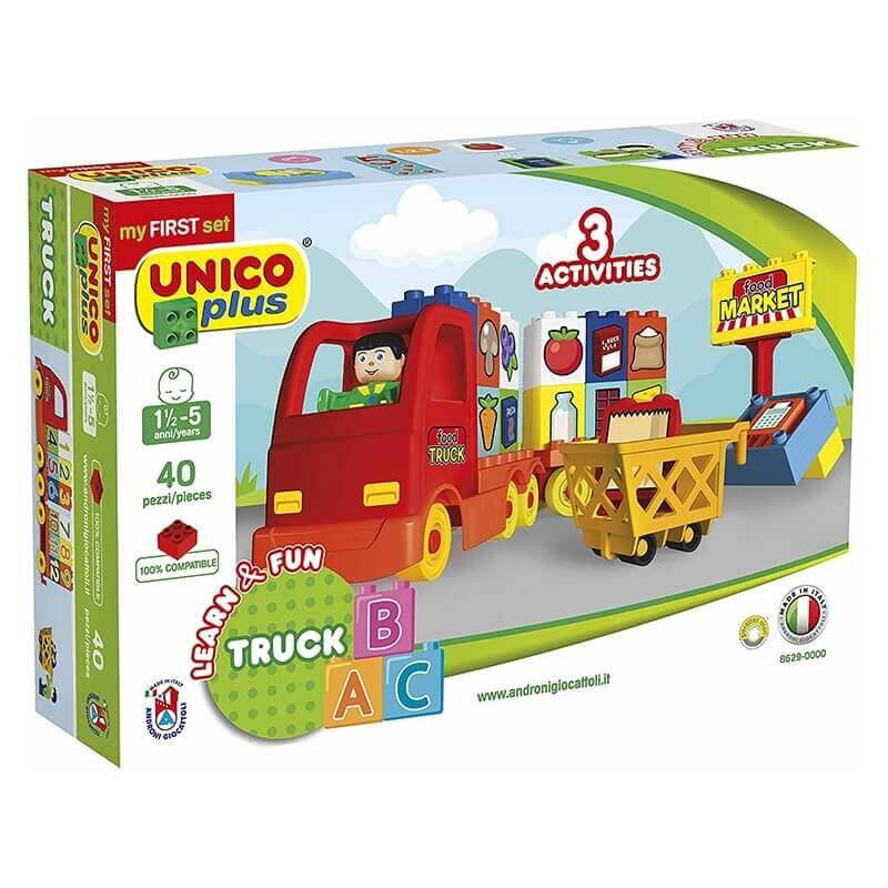 Unico Plus Τουβλάκια - Φορτηγό A B C 40 κομ.