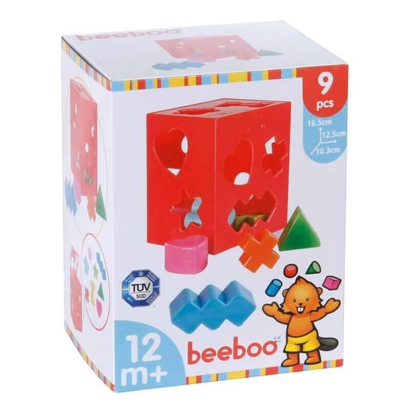 Εκπαιδευτικό Παιχνίδι με 8 Σχήματα Beeboo