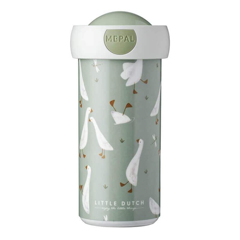 Ποτήρι Στεγανό με Καπάκι Little Goose 300ml - Little Dutch (MEP107420065392)
