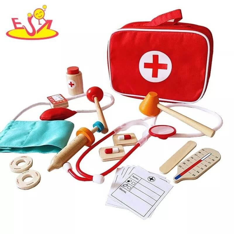Ιατρικό Βαλιτσάκι με Ξύλινα Εργαλεία - Eva Toys W10D274