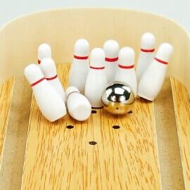 Επιτραπέζιο Mini Bowling Ξύλινο - Eva Toys (W01A141)