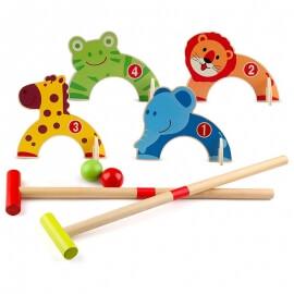 Ξύλινο Γκολφ με Ζωάκια - Eva Toys (W01A066)