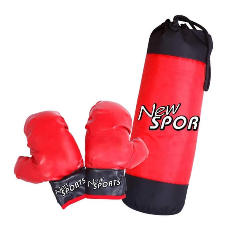 Σάκος και Γάντια του Box παιδικά - New Sports (73300576)